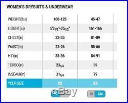 Bare Trilam Tech Dry Drysuit Women's for Scuba, Diving, Mining SIZE XS (F)