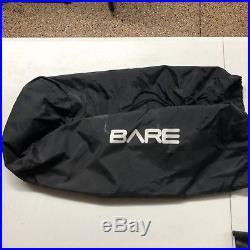 Bare Trilam Tech Scuba Dry Suit Including Undergarment &XXL Scubapro Jet Fins