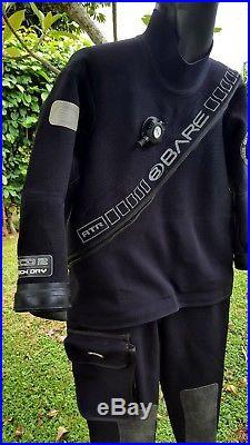 Bare XCD2 Tech Dry Scuba Diving Dive LargeShort Drysuit