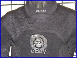 Bare XCS2 Pro Dry scuba diving drysuit men's size M