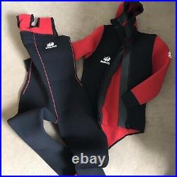 Beaver Icelandic 2 Piece Scuba Semi Dry Wet Suit Men M/L