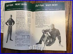 Bel Aqua Catalogue 1958 vintage scuba drysuit catalog dry suit totes