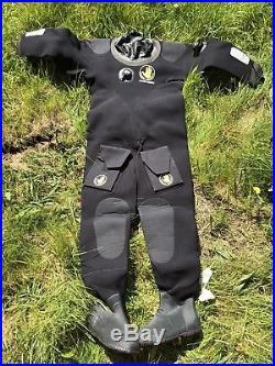Body Glove Neoprene Drysuit Scuba Diving Wetsuit Apex Small