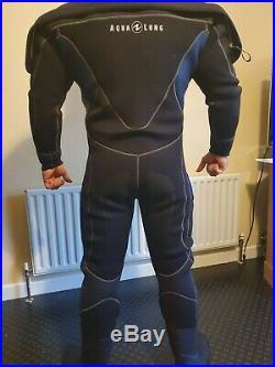 Brand-New Aqualung Blizzard Pro Drysuit Men's Size-ML