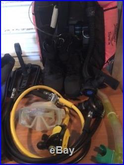 Buddy travel wing, Apex Reg, Scuba Diving Equipment, Mares Fins, Dry Suit