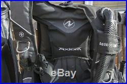 COMPLETE SCUBA DIVING KIT EQUIPMENT dry suit, cylinder, mask, regulator
