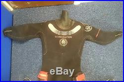 Commercial Diving Scuba Northern Diver Drysuit Neoprene Divemaster FREE POSTAGE