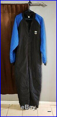 DUI 200 Thinsulate scuba diving undergarments XXL Blue With Bag