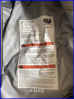 DUI 3030 Dry Suit Scuba Diving Size XL Brand New