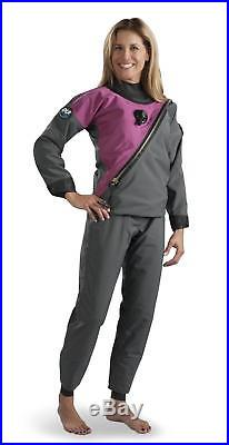 DUI 30/30 Women's Select Scuba Diving Drysuit Size Medium Large Tall