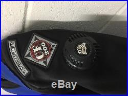 DUI CF200X SCUBA Drysuit Size Signature Series with NEW Zip Seals