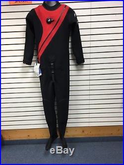 DUI CF200X Scuba Drysuit Size Large BRAND NEW