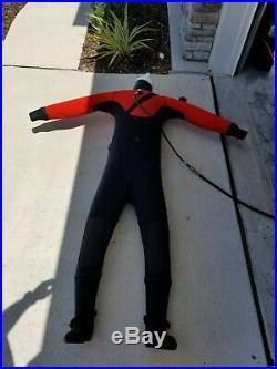DUI CF200 SCUBA Diving Drysuit (size Medium)