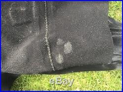 DUI CF200 SE Scuba Diving Neoprene Drysuit Mens L Size 9 Boots Halcyon Pee Valve