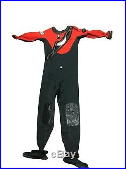 DUI CFX200X Drysuit for Cold Water Scuba Diving with Pockets Small/Med Boot 9 Men