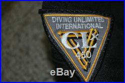 DUI CLX450 Classic Series Scuba Diving Dry Suit UNLIMITED INTERNATIONAL SMALL