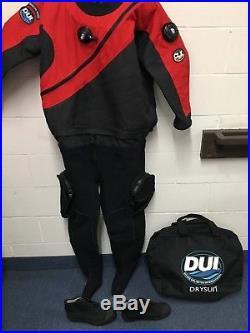 DUI CLX50/50 SCUBA Drysuit Size Signature Series with NEW Zip Seals