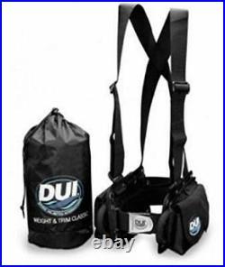 DUI Classic Weight Belt Harness for Drysuit Scuba Diving Dry Suit Large
