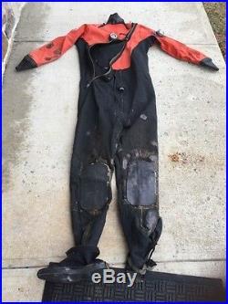 DUI Crushed Neoprene Scuba Drysuit