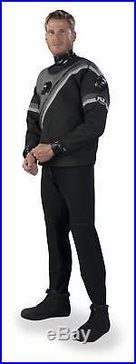 DUI FLX 50/50 Select Series Men's Scuba Drysuit (Size Medium)