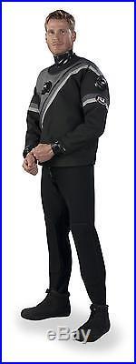 DUI FLX 50/50 Select Series Men's Scuba Drysuit (Size X-Large-Short)