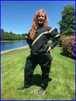 DUI FLX 50/50 custom SCUBA diving dive drysuit, women's medium