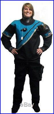 DUI FLX Scuba Diving Dive Drysuit Dry Suit Cold Water Ocean Diving
