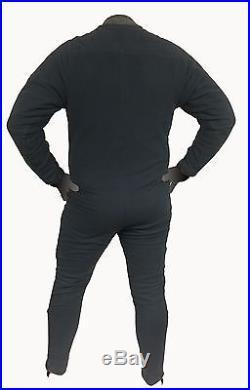 DUI Polar Tech Power Stretch Jumpsuit Scuba Diving Dry Suit Fleece Undergarment