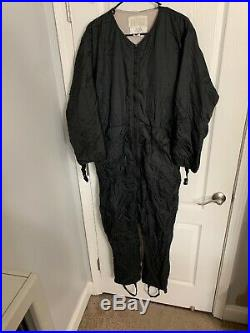 DUI Polartec Drysuit Undergarment Size Medium Stretch Fleece Scuba Diving Gear
