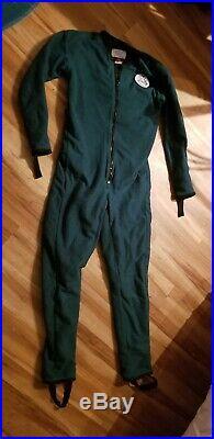 DUI Polartec Fleece Jumpsuit SCUBA Drysuit UnderGarment Warm Size SMALL