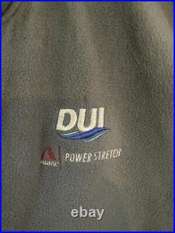 DUI Polartec Powerstretch Pro 300 Dry Suit Undergarment Scuba Diving Gear Medium