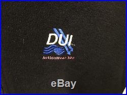 DUI Power Strech 300 SCUBA Drysuit Thermals Size Medium