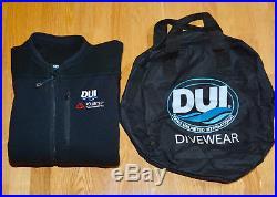 DUI Scuba Dive Polartec Powerstretch Pro Jumpsuit 300 Dry Suit Undergarment MED