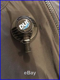 DUI TLS350 Premium Drysuit Men's Large Scuba Diving