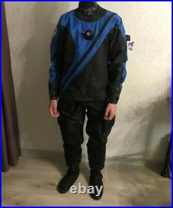 DUI TLS 350 Scuba Diving drysuit Size M