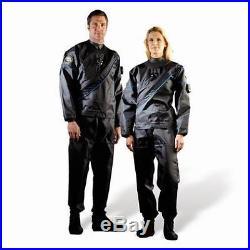 DUI TLS 350 Select Men's Scuba Drysuit Small-Short