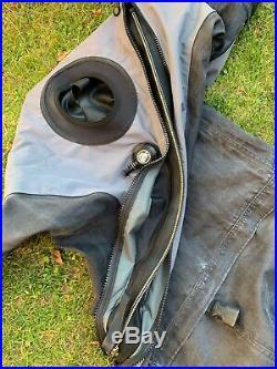 DUI TLS 350 scuba diving drysuit membrane large diving unlimited international