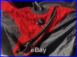 DUI TLS DRYSUIT XXL WITH POCKETS AND ZIP SEAL SYSTEM SCUBA Includes Manual