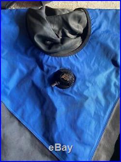 DUI TLS Drysuit M/L scuba diving suit MINT condition Rubber/Seals in GREAT state