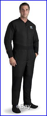 DUI Thinsulate Xm450 Jumpsuit Scuba Drysuit Undergarment- Large