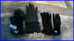 DUI Zip Compressed Neoprene/DuPont Kevlar Dry Suit Scuba Gloves with liners, s