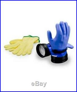 DUI Zip Scuba Diving Gloves Heavy Duty Dry Suit Gloves with Liners All Sizes