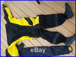 Diving Concepts Dry Suit Scuba Dive With Undergarment Scuba Dive Dry Suit Large
