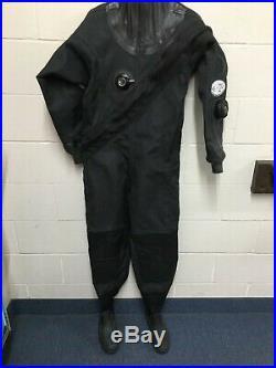 Diving Concepts Dura Flex Tek SCUBA Drysuit Size Small