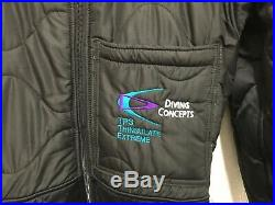 Diving Concepts TPS Thinsulate Extreme SCUBA Drysuit Thermals & Socks Small