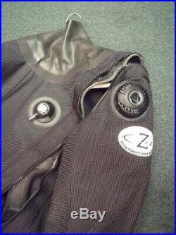 Diving Concepts Z Flex trilaminate scuba drysuit size Women's M or Men's S