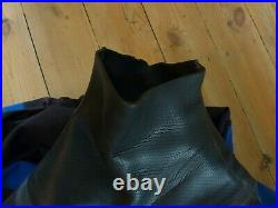 Dry suit Northern Diver Vortex membrane size 10 Boot Men Tall P Zip Scuba