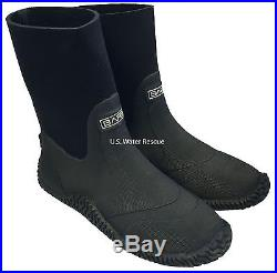 Drysuit Boots Heavy Duty Vulcanized 4mm Compressed Neoprene, BARE Scuba Dry Suit