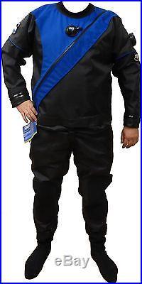 Dui Tls350 Select Series Men's Trilaminate Drysuit Scuba Diving Size Custom