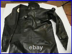 Dui XL Rubber Dry Suit Scuba Diving Seals Intact Only Used A Few Time Nice Used